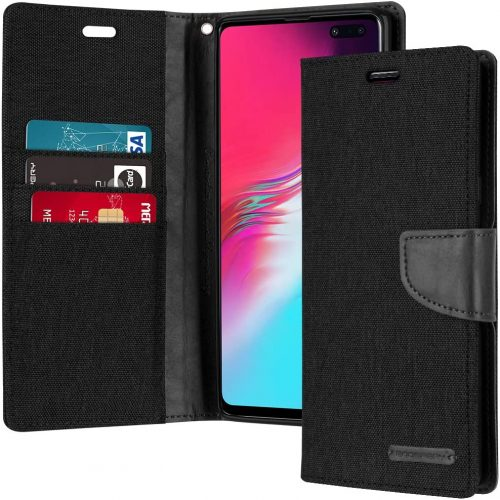 Samsung Galaxy S10 5G Goospery Canvas Wallet Case