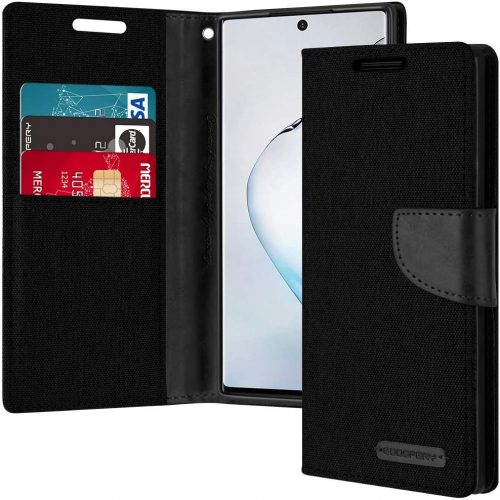 Samsung Galaxy Note 10 Goospery Canvas Wallet Case